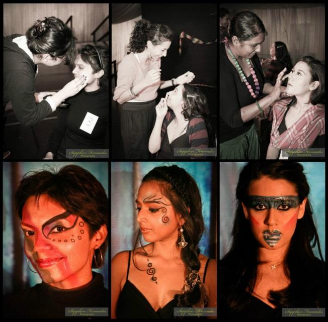 Makeup Artists at Art Nation