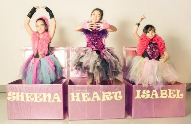 Da Fashionista Girlz (Sheena Mae Ann S. Celis, Isabelle Francesca Cueva & Heart Ryan Evangelista)