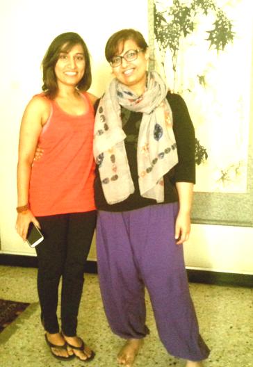 With Yoga Guru