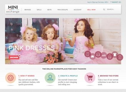 Mini Exchange_Homepage