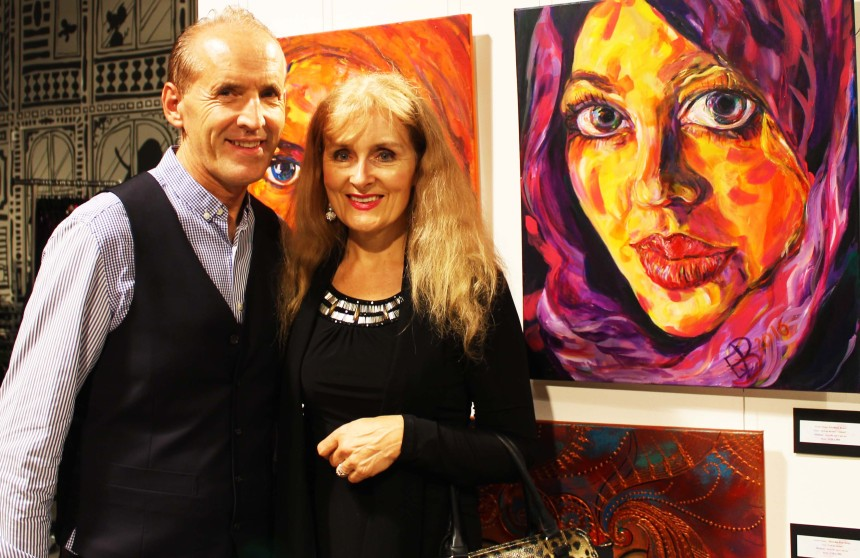 Elizabeth Bruce with her artworks.jpg