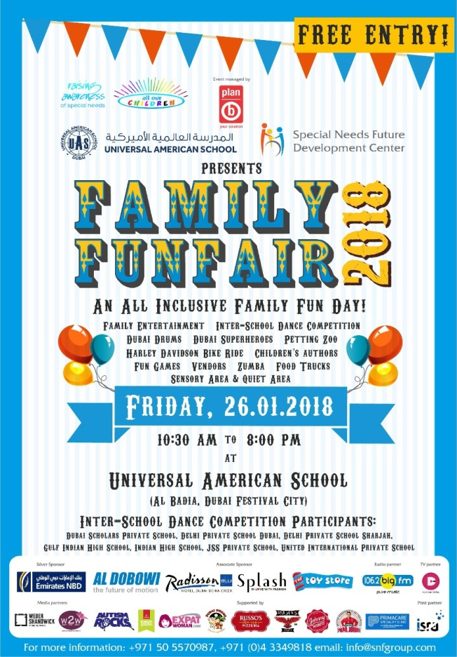 Family Fun Fair Poster