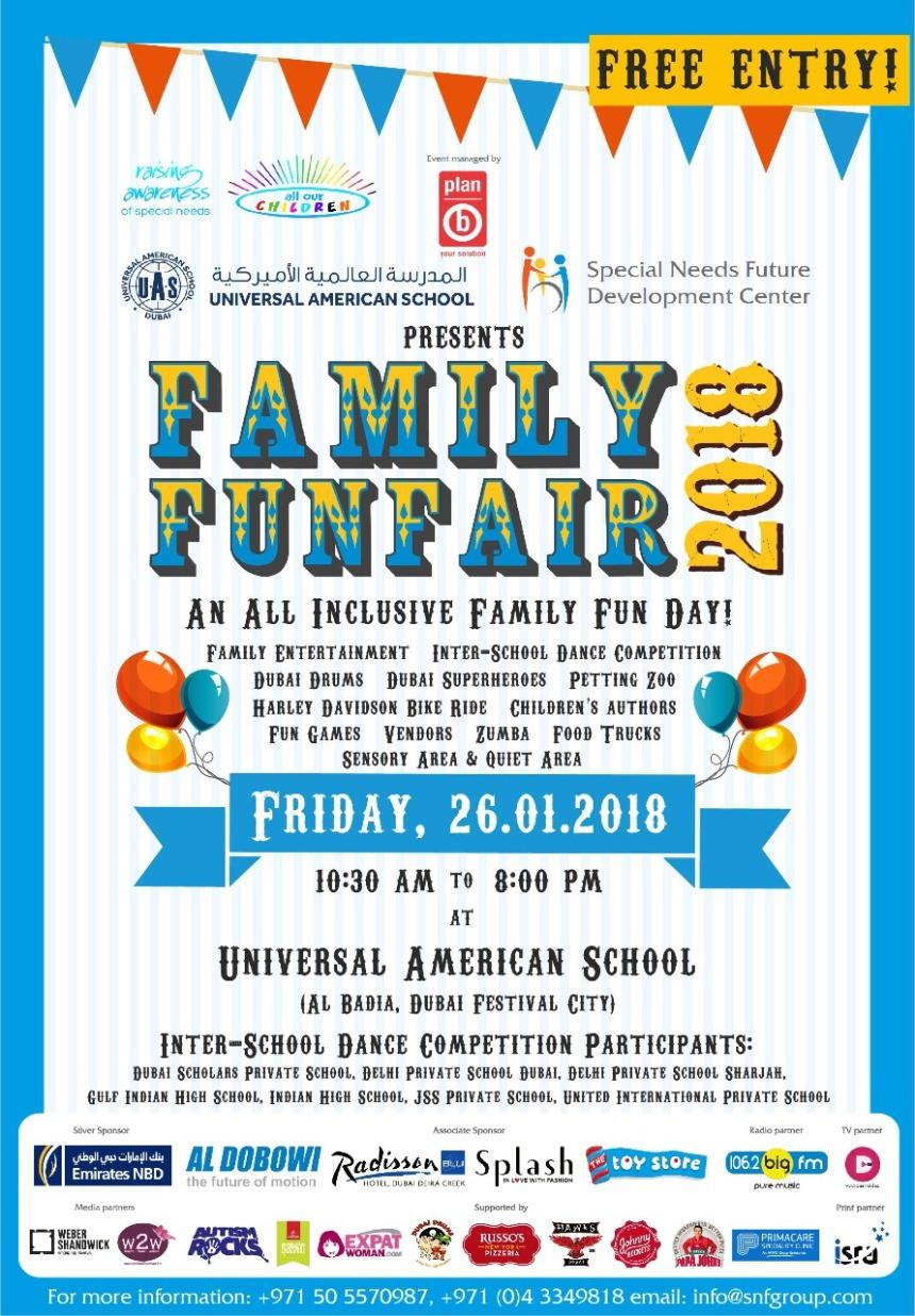 Family Fun Fair Poster