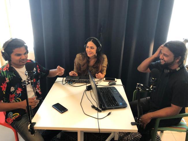 Hangout Team - Rushdi- Nicole - Bashir.JPG