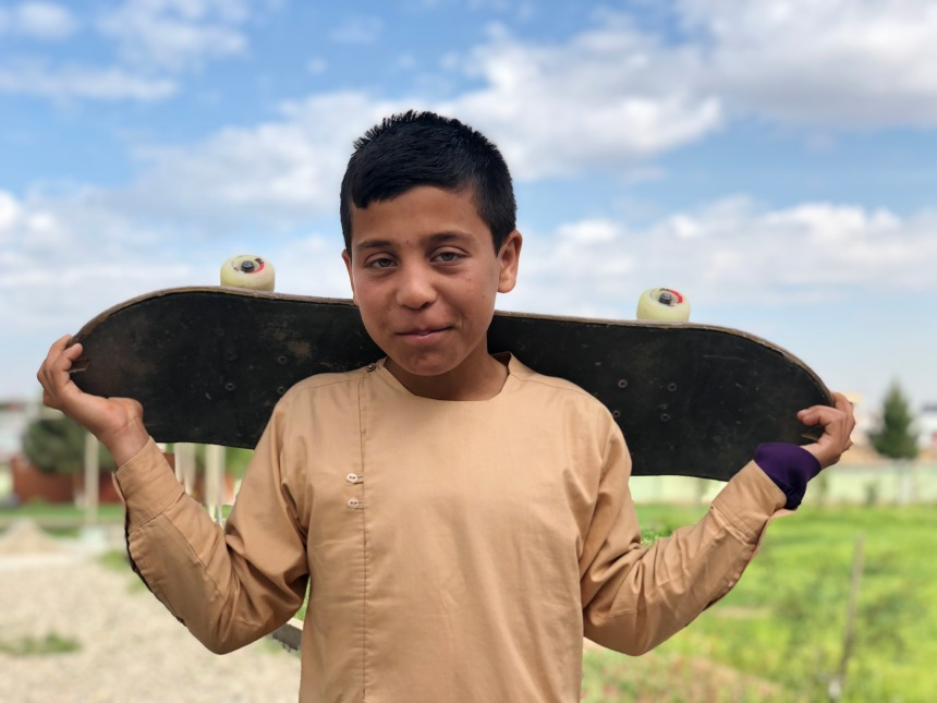 Skateistan launches Changing the Story - student Ahmad.jpeg