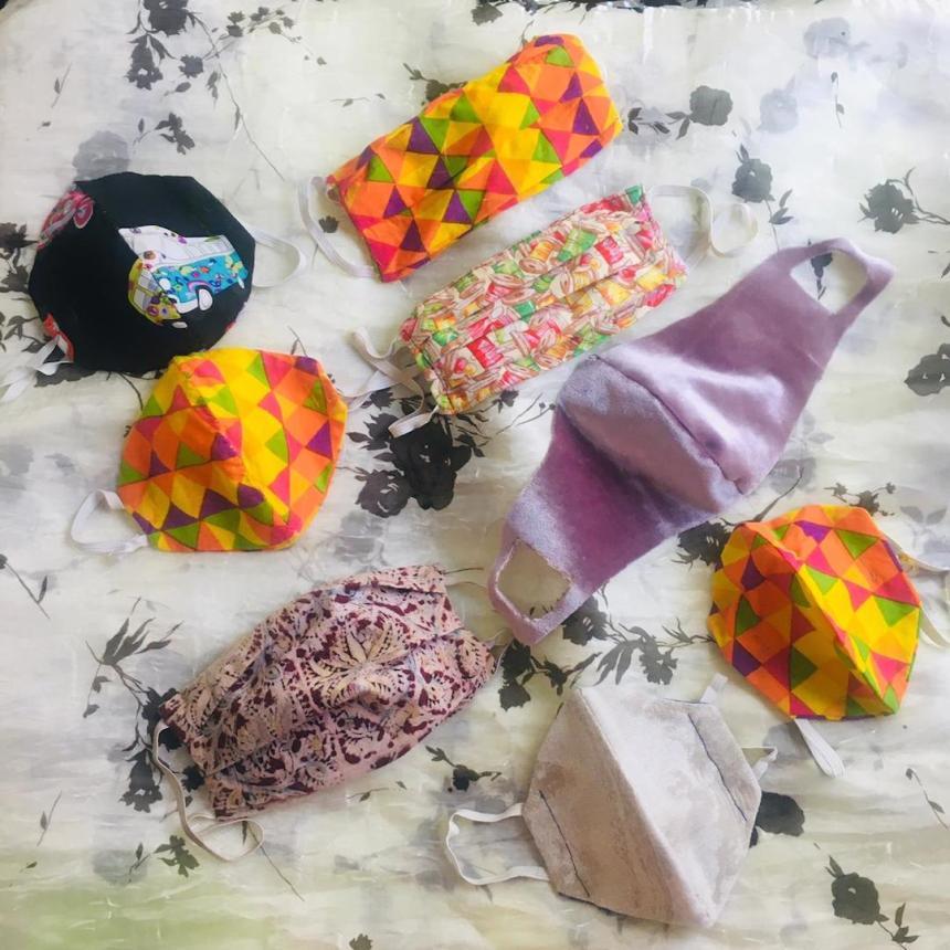Masks Sandhya
